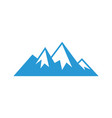 mountain sign logo image image vector image vector image