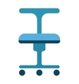 Office chair furniture vector image