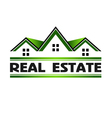 Real Estate Green vector image vector image