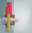 Art Deco style geometric bright design vector image vector image
