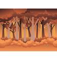 Cartoon Autumn Forest vector image