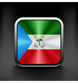 Equatorial Guinea icon flag national travel icon vector image