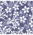 floral seamless vector image