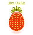 Juicy Easter vector image vector image