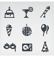 Party icon set