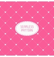 Pink romantic wedding geometric seamless pattern vector image vector image