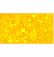 squares in various shades of yellow background vector image vector image
