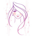 women pink vector image vector image