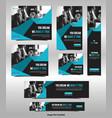 corporate social media post vector image vector image