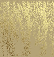 golden grunge texture for creating patina scratch vector image