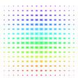 japanese rising sun shape halftone spectrum effect vector image