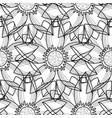 lotus modern seamless pattern vector image vector image