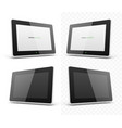 mobile device hd tablet screen vector image