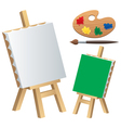 Painting Accessories vector image vector image