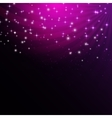 Star Shiny Sky Background vector image vector image