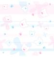 Cute Bears Children Wallpaper vector image