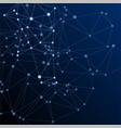 big data cloud scientific concept vector image