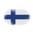 finland flag halftone vector image vector image