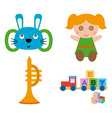 Isolated Toy vector image vector image