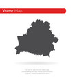 map belarus isolated black vector image vector image