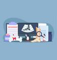 orthopedics clinic concept vector image
