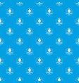 perfume boutique pattern seamless blue vector image vector image