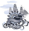 sea design vector image