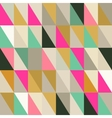 Seamless pattern of geometric shapes Triangle vector image
