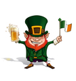 St Patrick Flag vector image