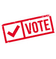 vote rubber stamp vector image vector image