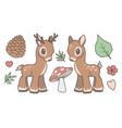 deer mix vector image