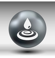 drop cream white droplet paint water rain sweat vector image vector image