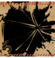 Grunge Explosion Background vector image vector image