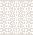 subtle seamless pattern with star shapes cross vector image vector image