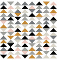 triangle seamless pattern modern abstract vector image vector image