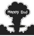 Atomic explosion clip art