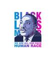 black lives matter vector image vector image