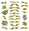 Decorative Ribbons Set vector image vector image
