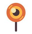 halloween candy flat vector image vector image