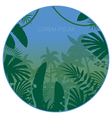 Jungle Flat Background29 vector image