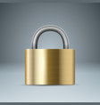 lock icon business infographic vector image vector image