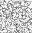 ornament paisley arabesque floral pattern tile vector image vector image