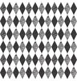 Rhombus retro background vector image