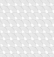 Slim gray offset overlapping circles vector image vector image