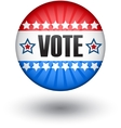 USA vote sign vector image vector image