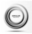 vortex gradient round banner swirl circle frame vector image
