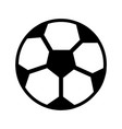 ball football soccer icon image vector image vector image