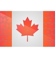 Canada logo Maple leaf Cymbol of Canada vector image