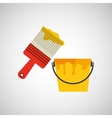construction tools design vector image vector image