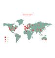 Coronavirus world map constructor